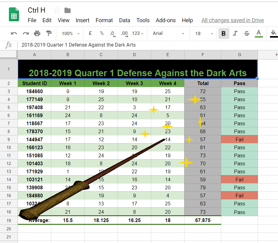 Multiple Cell Data and Formula Reference With Find and Replace – Google Sheets