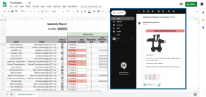 Google Apps Script email remind from Google Sheet The Badger 2