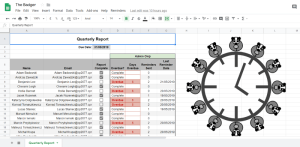 Google Apps Scripts: Create Time Triggers to automatically send email task reminders from a Google Sheets check list