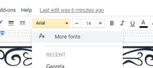 Google slides more fonts