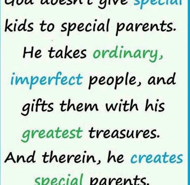 Letter from a Special Parent to Typical Parent