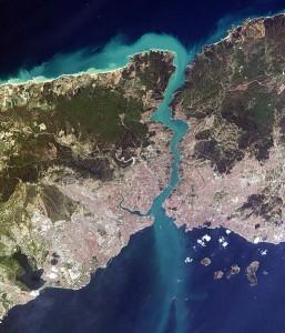 اسطنبول من الأقمار الصناعية