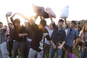حرب الوسادات