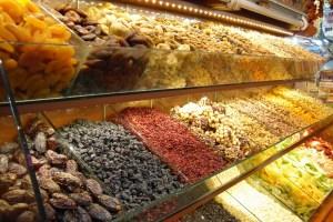 فواكه مجففة سوق مصر