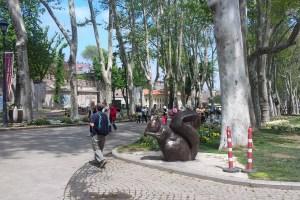 مدخل الحديقة