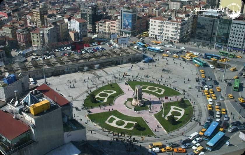 ساحة التقسيم في اسطنبول