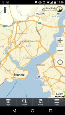 خرائط اسطنبول