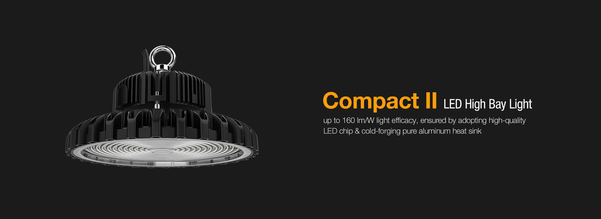 Compact II LED High Bay Light - YAHAM Lighting