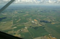 Land surrounding UW-Madison's Arlington Agricultural Research Station.