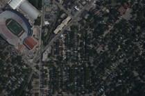 Madison's Monroe neighborhood, with football stadium (go Badgers)