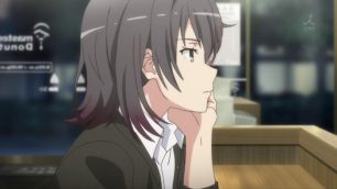 Yukinoshita Haruno (雪ノ下 陽乃) is so bored because her own expectation. (Yahari Ore no Seishun Love Comedy wa Machigatteiru. Yahari Ore no Seishun Love Come wa Machigatteiru. Yahari Ore no Seishun Rabukome wa Machigatte Iru. Oregairu My Youth Romantic Comedy Is Wrong, as I Expected. My Teen Romantic Comedy SNAFU Yahari Ore no Seishun Love Comedy wa Machigatteiru. Zoku Yahari Ore no Seishun Love Come wa Machigatteiru. Zoku Oregairu Zoku My Teen Romantic Comedy SNAFU TOO! やはり俺の青春ラブコメはまちがっている。 やはり俺の青春ラブコメはまちがっている。続 俺ガイル 果然我的青春戀愛喜劇搞錯了。 果然我的青春戀愛喜劇搞錯了。續 episode 3)