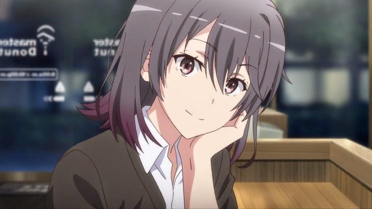 Yukinoshita Haruno (雪ノ下 陽乃) is wearing cheerful mask again. (Yahari Ore no Seishun Love Comedy wa Machigatteiru. Yahari Ore no Seishun Love Come wa Machigatteiru. Yahari Ore no Seishun Rabukome wa Machigatte Iru. Oregairu My Youth Romantic Comedy Is Wrong, as I Expected. My Teen Romantic Comedy SNAFU Yahari Ore no Seishun Love Comedy wa Machigatteiru. Zoku Yahari Ore no Seishun Love Come wa Machigatteiru. Zoku Oregairu Zoku My Teen Romantic Comedy SNAFU TOO! やはり俺の青春ラブコメはまちがっている。 やはり俺の青春ラブコメはまちがっている。続 俺ガイル 果然我的青春戀愛喜劇搞錯了。 果然我的青春戀愛喜劇搞錯了。續 episode 3)