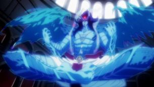 Baal, the Djinn of the first dungeon. (Adventure of Sinbad, Magi Sinbad no Bouken, Sinbad no Bouken)