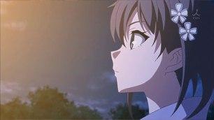 The real feeling of Yukinoshita Haruno (雪ノ下 陽乃). (Yahari Ore no Seishun Love Comedy wa Machigatteiru. Yahari Ore no Seishun Love Come wa Machigatteiru. Yahari Ore no Seishun Rabukome wa Machigatte Iru. Oregairu My Youth Romantic Comedy Is Wrong, as I Expected. My Teen Romantic Comedy SNAFU やはり俺の青春ラブコメはまちがっている。 俺ガイル 果然我的青春戀愛喜劇搞錯了。 ep 9)