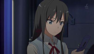 Yukinoshita Yukino (雪ノ下 雪乃) uses the ultra rare card. (Yahari Ore no Seishun Love Comedy wa Machigatteiru. Yahari Ore no Seishun Love Come wa Machigatteiru. Yahari Ore no Seishun Rabukome wa Machigatte Iru. Oregairu My Youth Romantic Comedy Is Wrong, as I Expected. My Teen Romantic Comedy SNAFU やはり俺の青春ラブコメはまちがっている。 俺ガイル 果然我的青春戀愛喜劇搞錯了。 anime ep 12)