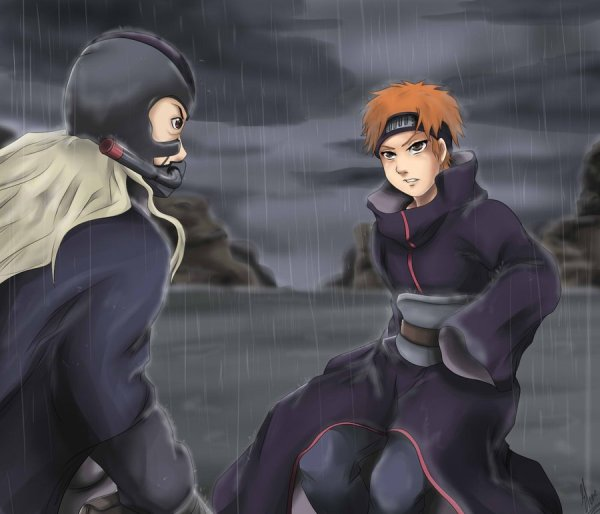 Яхико против Ханзо на сайте про Яхико