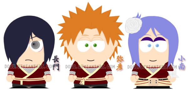 Яхико Конан и Нагато в South parke на сайте про Яхико