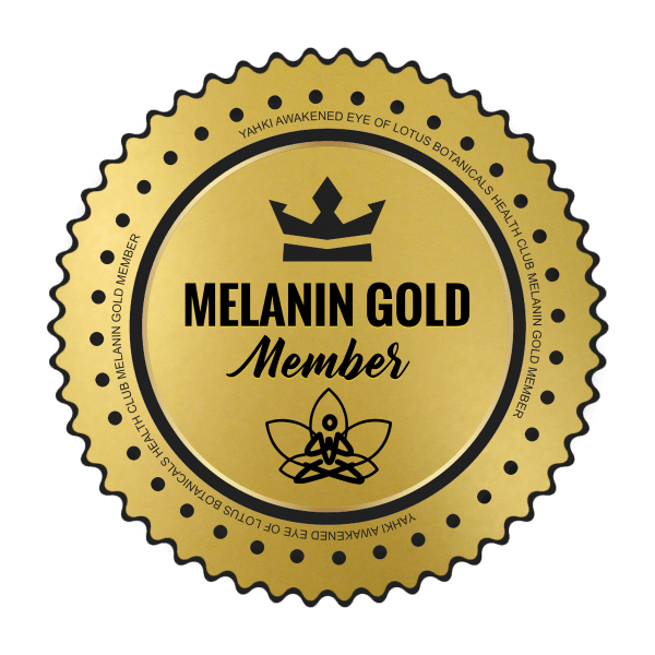 Melanin Gold Member Badge