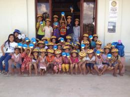 Helmet for the children
