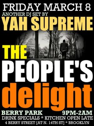 peoples delight march 8