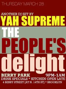 peoples delight march