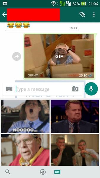 Kumpulan GIF WhatsApp