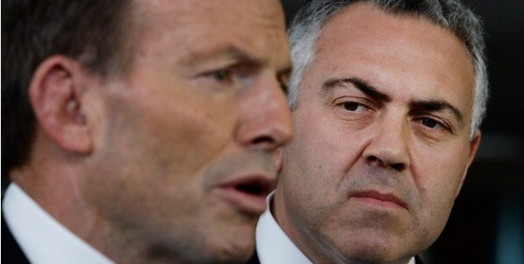 Prime Minister and Treasurer Joe Hockey