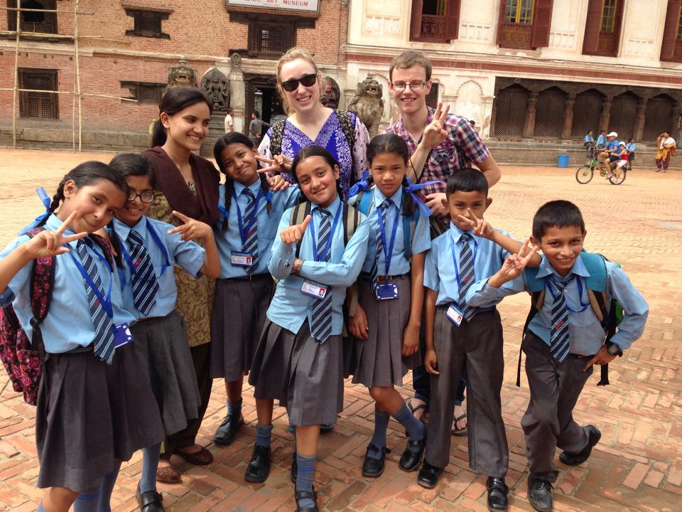 Yak Magazine Managing Editor Emily Steele's volunteering in Nepal