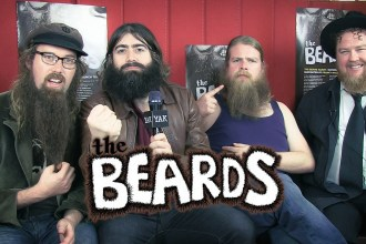 The Beards talk to Yak TV