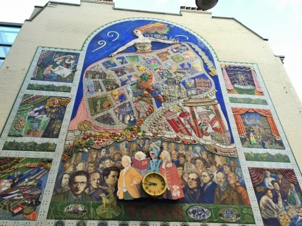 The Soho mural.
