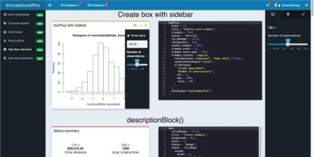 A R shiny app dashboard built with shinydashboardPlus. View it live on YakData brightRserver