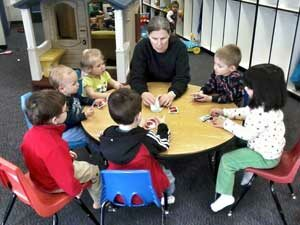 Children Learning at Kids Club - child care