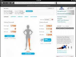 dotFIT web interface