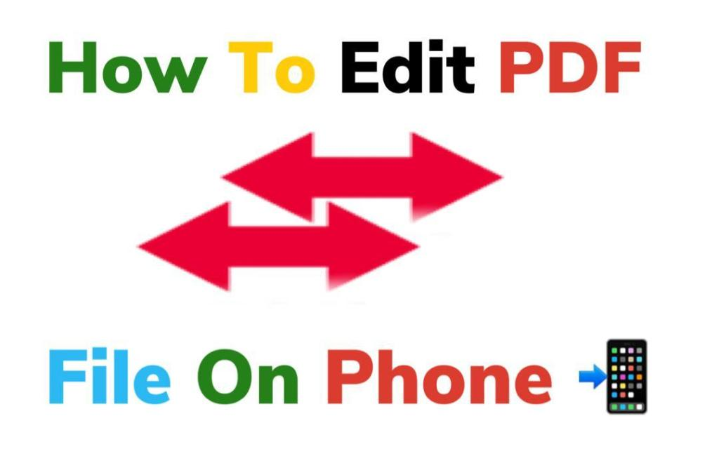 How to edit a PDF file on phone