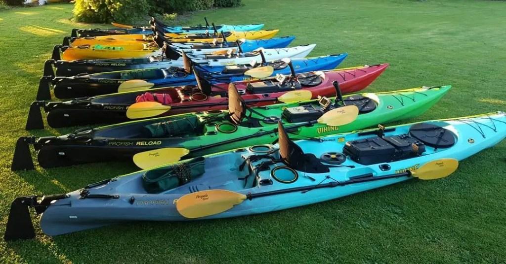 Foreign Kayak Brand Viking Kayaks