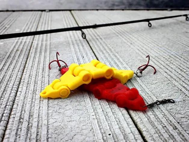3D printed swimbait
