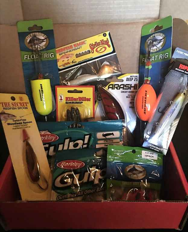 Reel Tackle monthly fishing box