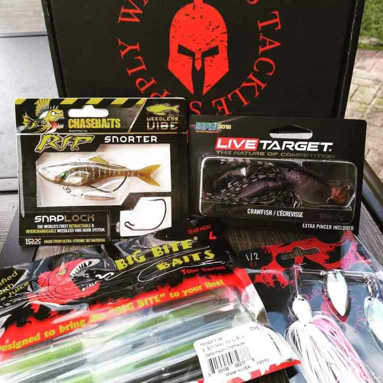 Warrior Tackle monthly fishing box