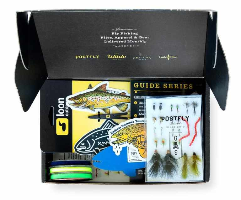 Post Fly Guide monthly fishing box
