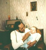 Mit Opa Heinz