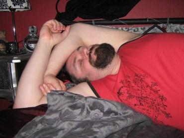Der schläft mal wieder!