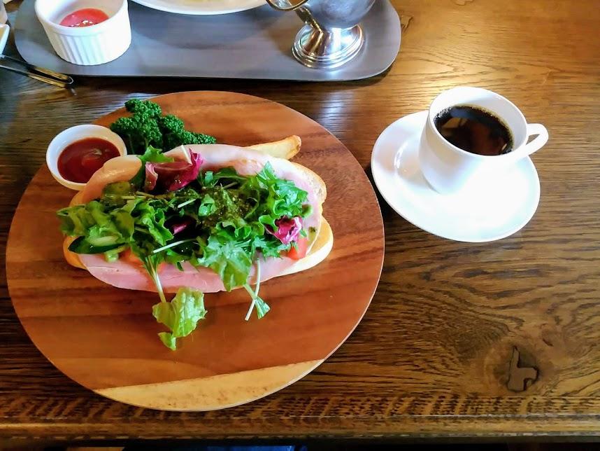コーヒーハウス ユーコン サンドイッチ