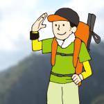 登山の装備持ち物チェックリスト。富士山など日帰りや1泊する場合
