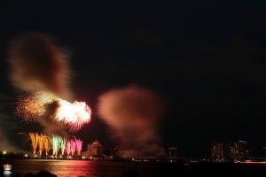 東京湾花火大会の穴場スポットはいくつかありますので、紹介します。