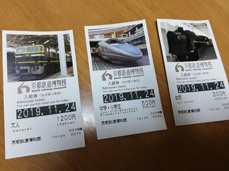 京都鉄道博物館チケット