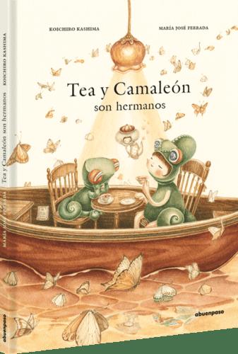 PORTADA TEA Y CAMALEÓN