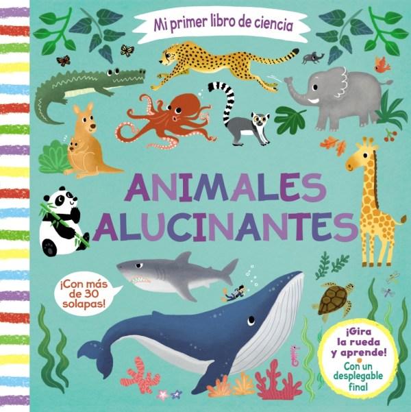 PORTADA LIBRO ANIMALES ALUCINANTES