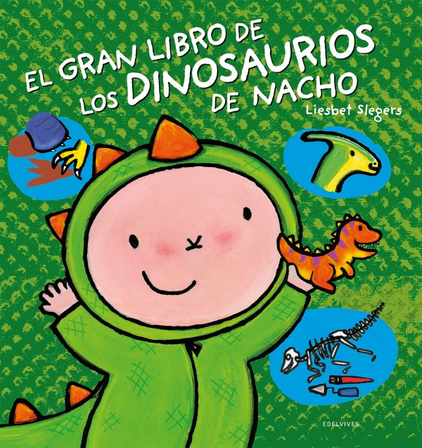 Portada el gran libro de los dinosaurios de nacho