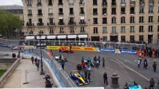 Paris sokakları böyleydi yarış günü