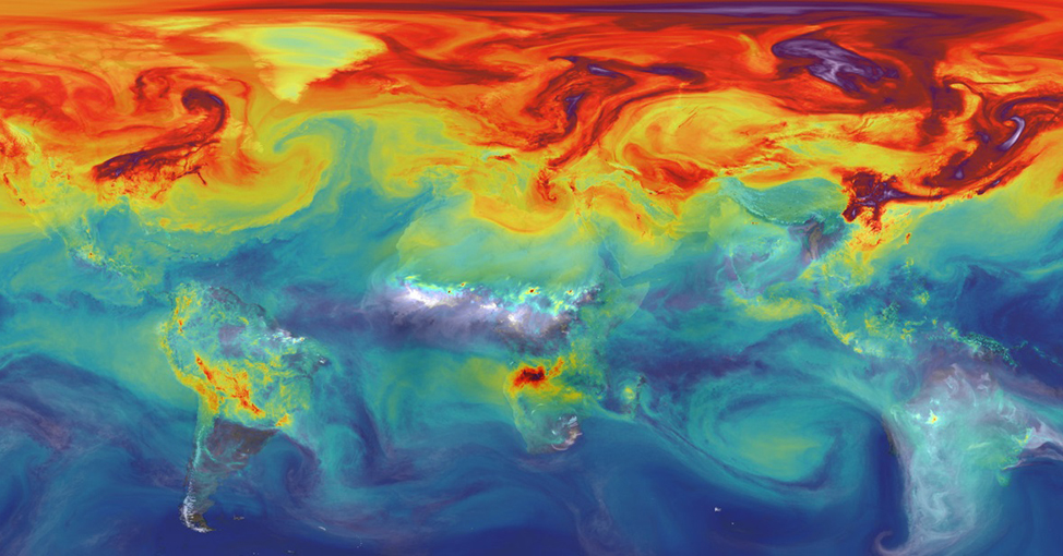 Atmospheric simulation